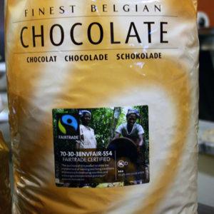 Chocolat de couverture pour pâtisserie